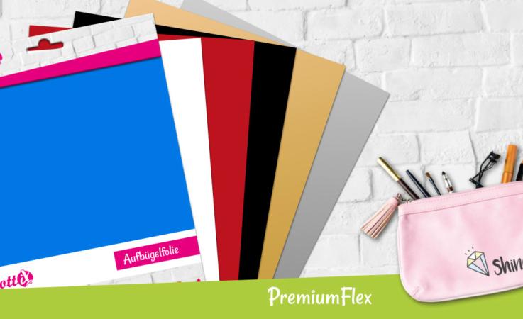 Die PremiumFlex Folien sind optimal für elastische und haltbare Motive.