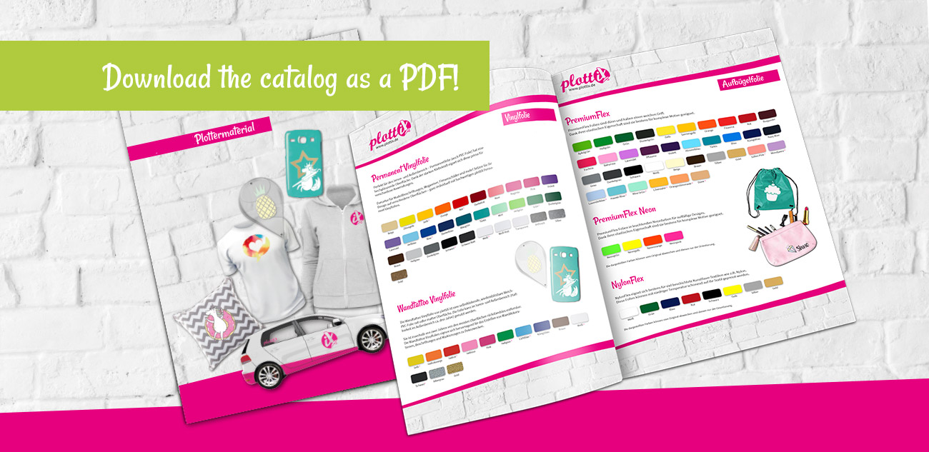 Download the plottiX catalog. This way you have all our products in one overview!