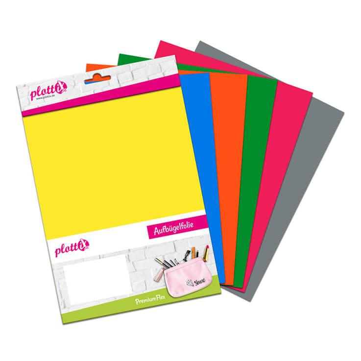 Bunte Designs sind mit unserem PremiumFlex Grundfarben Bundle sicher!