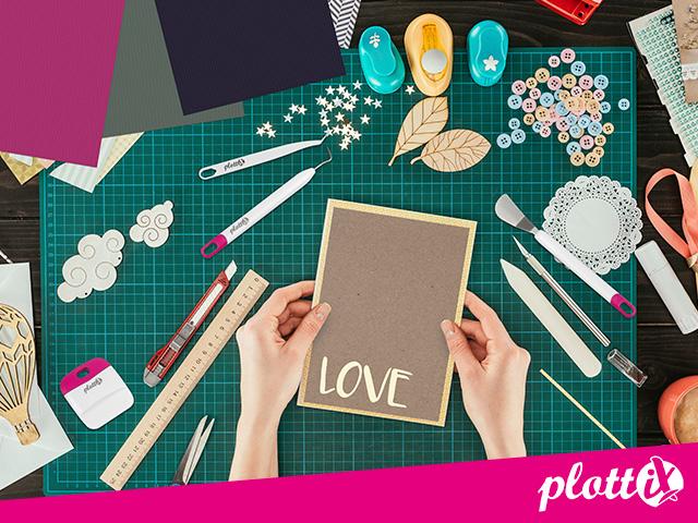 plottix Papier für kreative Projekre