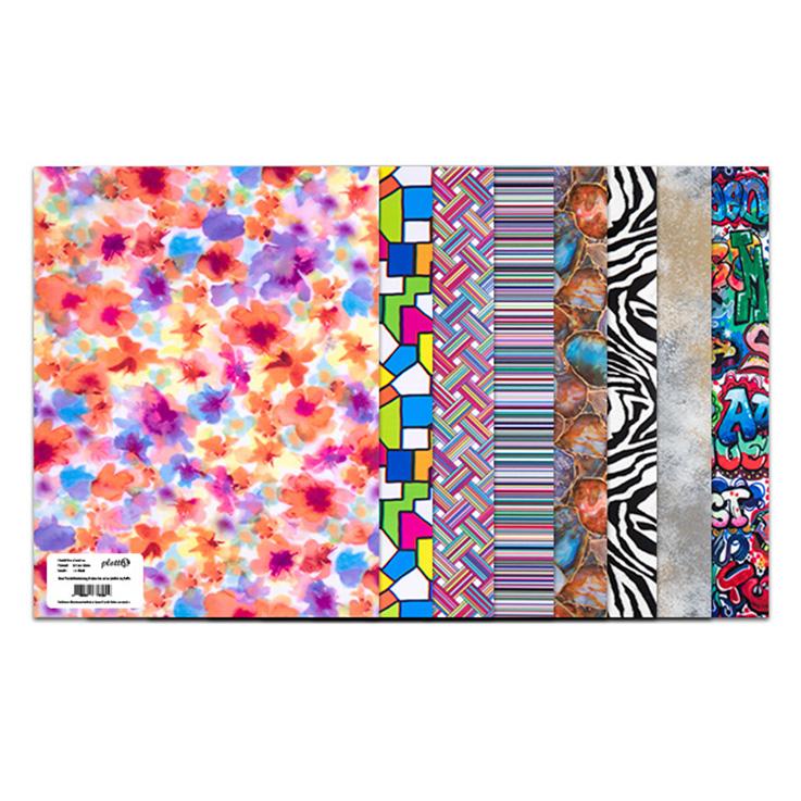 Entdecken Sie unsere bunten und aufregenden Muster der DesignFlex Serie! So bekommen Ihre Motive einen noch individuelleren Touch.