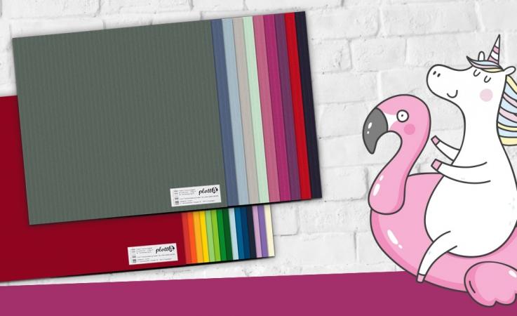 Wir bieten Ihnen farbenfrohes Papier in Premium Qualität an.