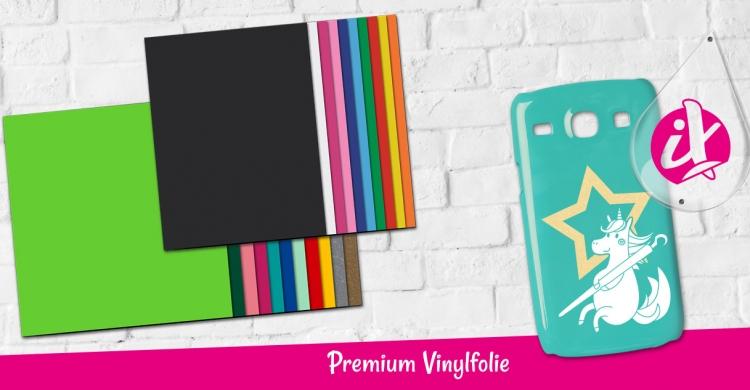 Die plottiX Vinylfolie überzeugt mit Ihrer hochwertigen Qualität. Entdecken Sie das bunte Sortiment an Vinylfolie.