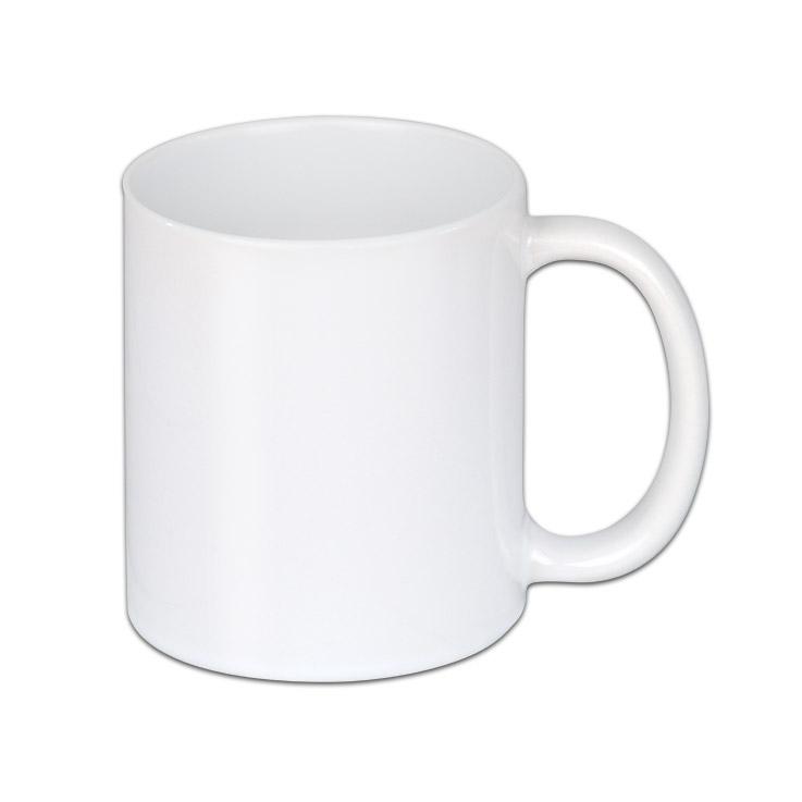 Weiße Tasse zum sublimieren